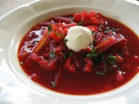 Beetroot borscht ©Pille - Nami-nami
