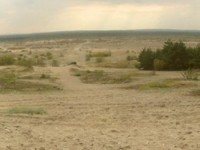 The Bledow Desert in Poland