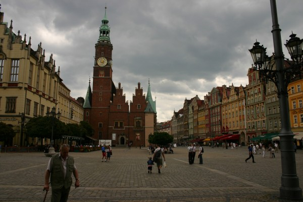The atmosphere of Wroclaw