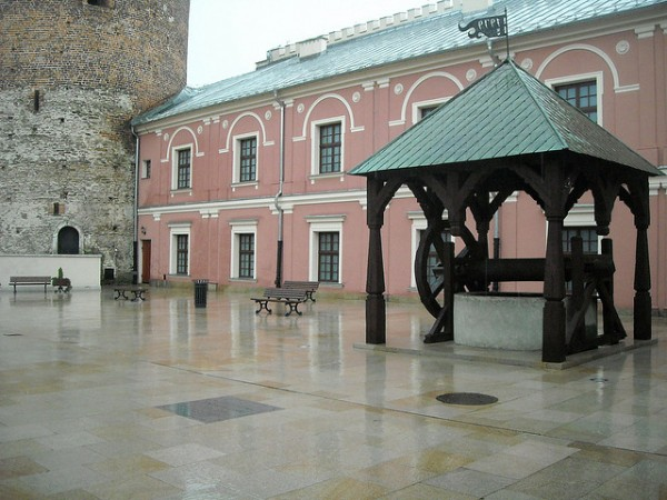 Well in the courtyard of the Lublin Castle