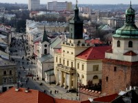 Lublin Market Square with the New City Hall
