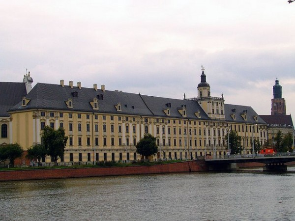 The old University in Wroclaw