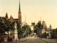 Wroclaw as the city of bridges