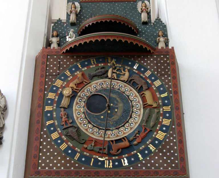 Astronomical Clock of the Saint Mary Cathedral