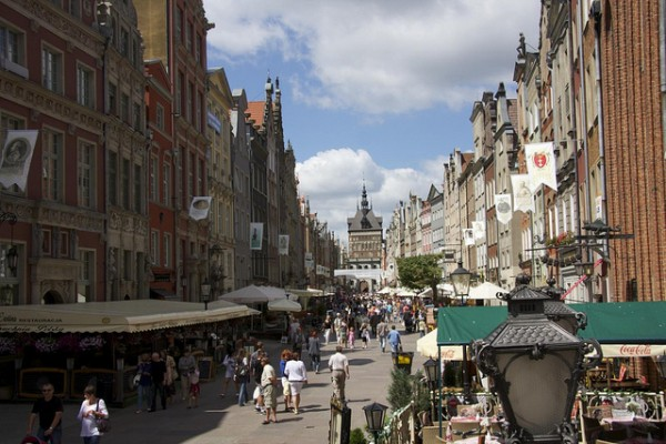 Long Street in Gdansk