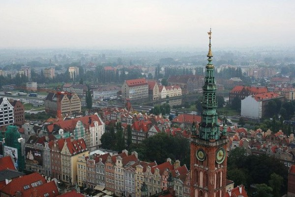 The city of Gdansk