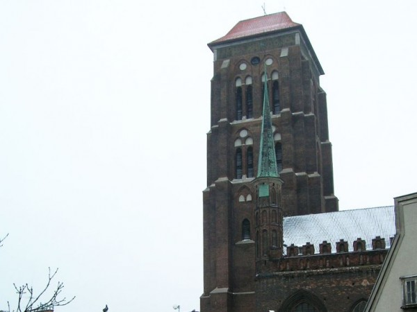 The tower of the Saint Mary Cathedral
