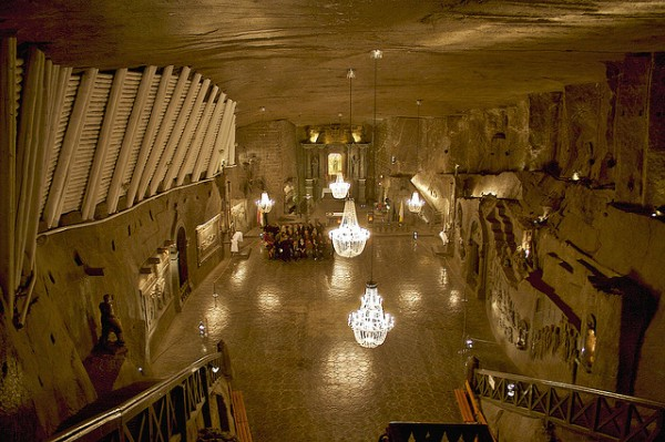 Chapel in the Wieliczka Salt Mine