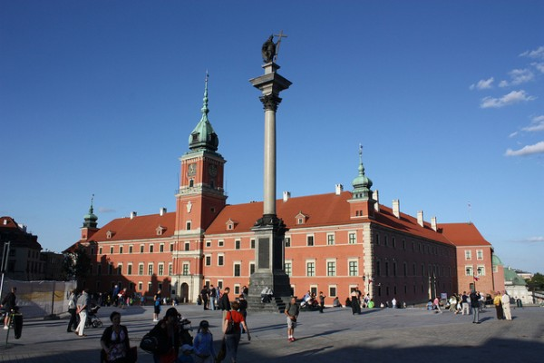 The Column of Sigismund in Warsaw