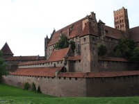The Malbork Castle in Poland
