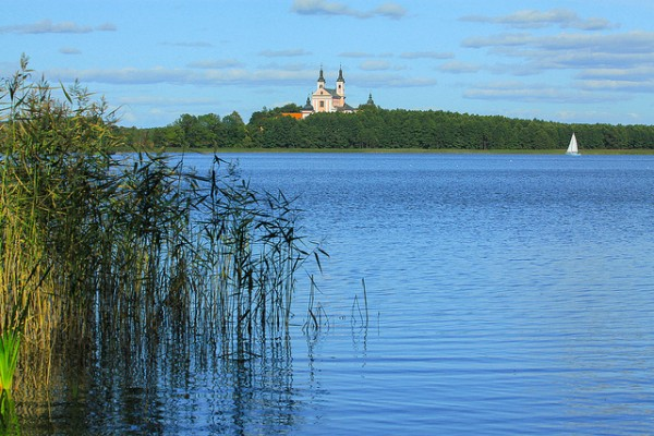 The Masurian Lake in Poland