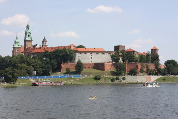 The Wawel Castle in Krakow