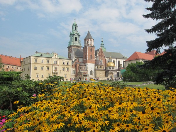 The Wawel Cathedral in Krakow