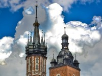 The Saint Mary Cathedral in Krakow