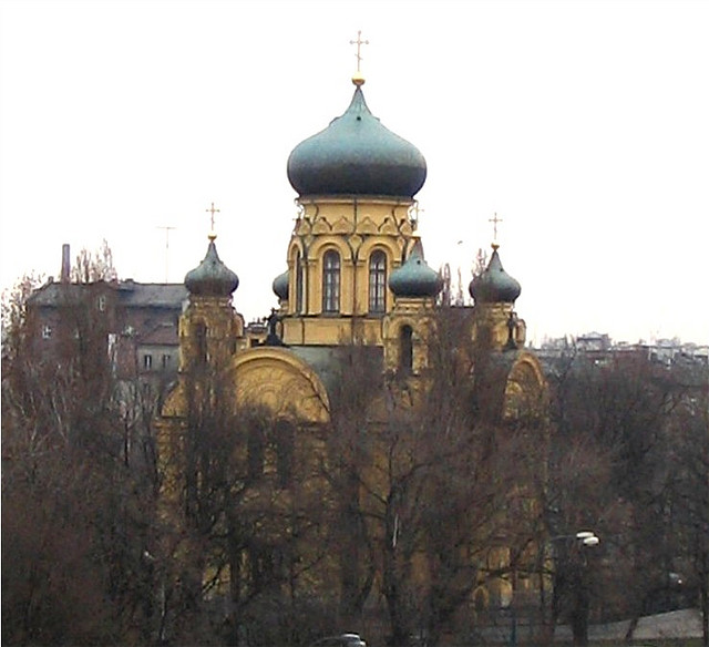The Cathedral of Saint Mary Magdalene in Warsaw