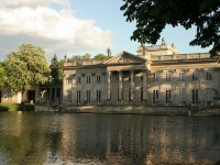 The Palace on Water in the Lazienki Park