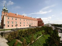 The exhibition rooms of the Royal Castle Museum in Warsaw