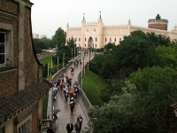 The Krakowska Gate and the Grodzka Gate in Lublin