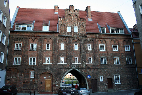 Gdansk city gate