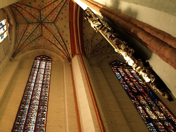Inside the Cathedral of Torun