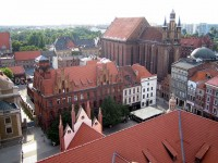 The Cathedral and the Church of Assumption in Torun