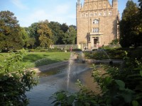 Famous fountains in Torun