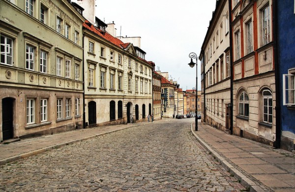 Street in the New Town of Warsaw