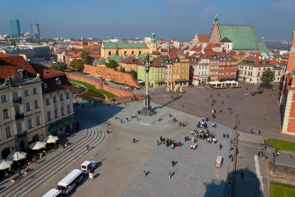 The New Town of Warsaw