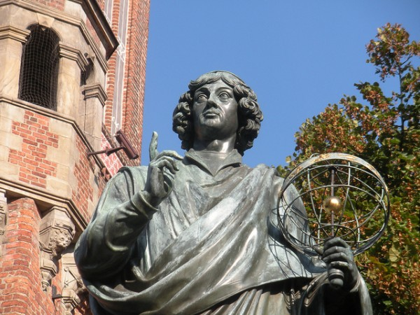 The Statue of Nicolaus Copernicus