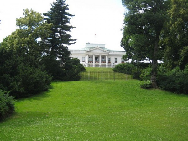 Belvedere Palace in Warsaw