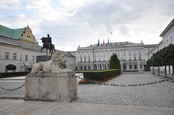 The Radziwill Palace in Warsaw