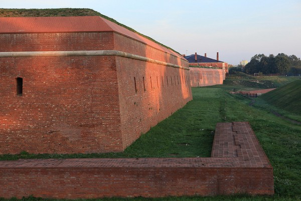 The Fort in the Old City of Zamosc