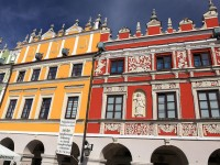 The Great Market Square in Zamosc