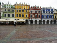 The Old Square of Zamosc
