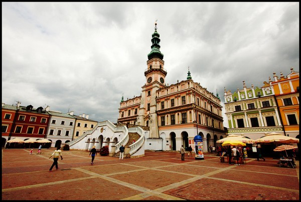The Town Hall in Zamosc