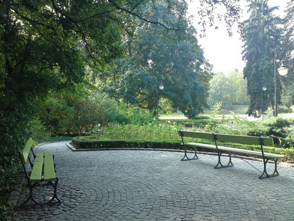 The Ujazdów Park in Warsaw