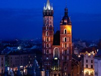 The Blessed Virgin Mary Church in Krakow