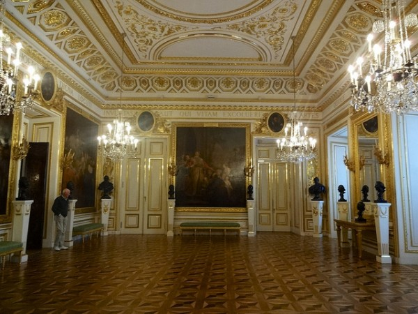 The Knights' Hall in the Royal Castle