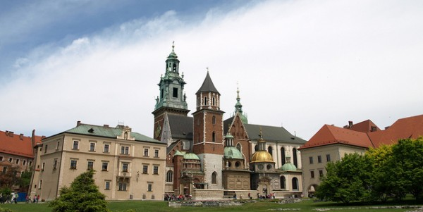 The Wawel Cathedral in Poland